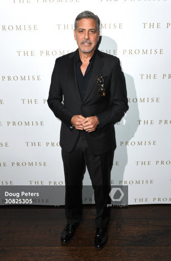 George and Amal at special screening of The Promise in London 2.30825305