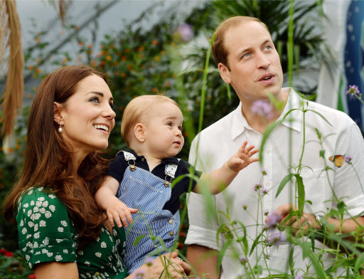 Royals mark Prince Louis' christening