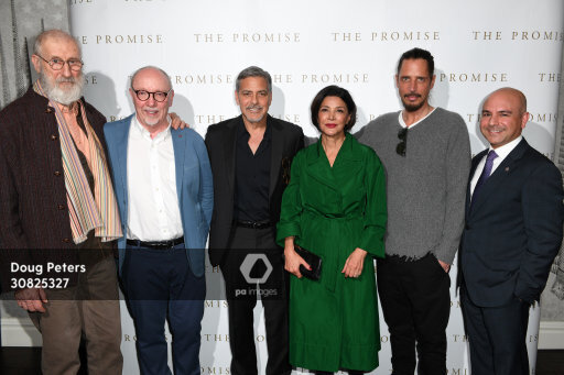 George and Amal at special screening of The Promise in London 2.30825327