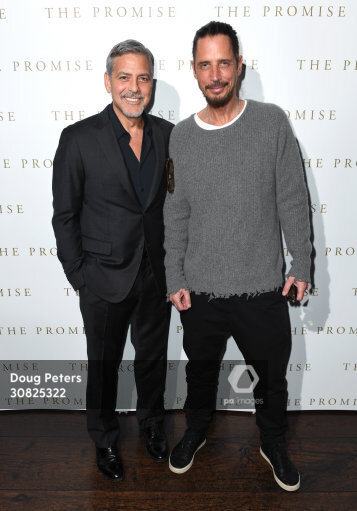 George and Amal at special screening of The Promise in London 2.30825322