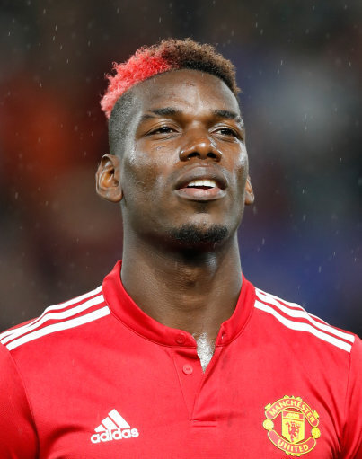 Manchester United's Paul Pogba during the UEFA Champions League, Group A match at Old Trafford, Manchester. PRESS ASSOCIATION Photo. Picture date: Tuesday September 12, 2017. See...