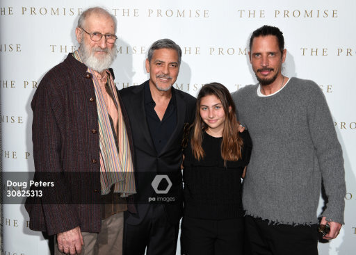 George and Amal at special screening of The Promise in London 2.30825313