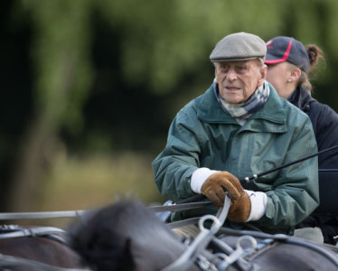The Duke Of Edinburgh At Royal Windsor Horse Show Which Is Held In
