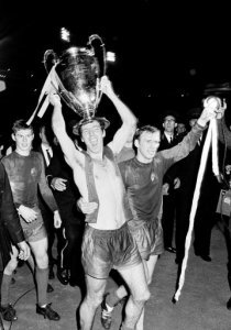 File Photo Dated 29 05 1968 Of Manchester Uniteds David Sadler With The European