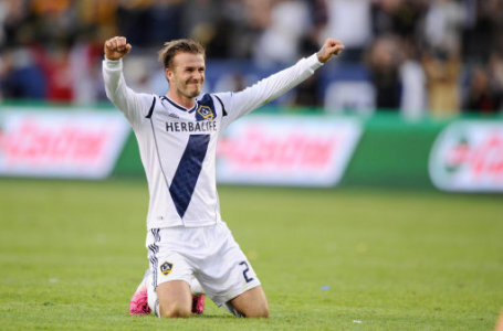 David Beckham Celebration Pa Images