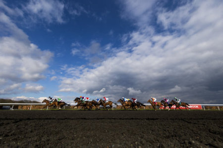 Kempton park pa images general view during the matchbook betting podcast rosebery handicap during the easter family fun day at negle Images