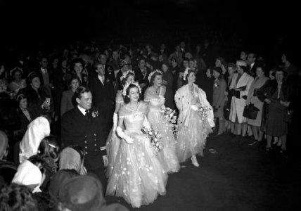 Queen Elizabeth Ii Wedding Day Pa Images