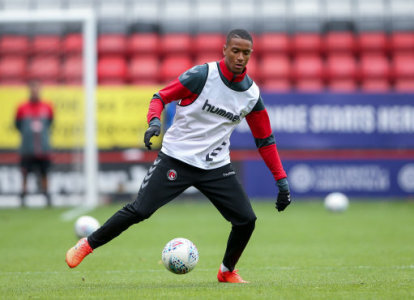 Charlton Athletic's Ezri Konza